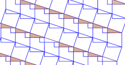 Pythagorean Theorem by Tessellation # 52 Tiling