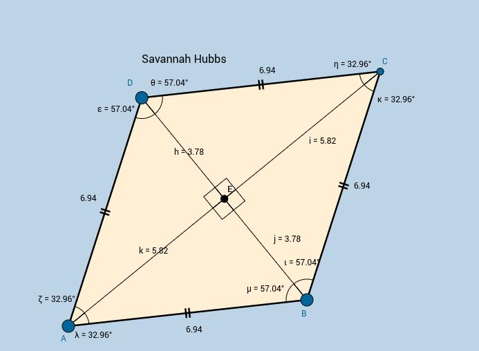 Rhombus - Savannah Hubbs