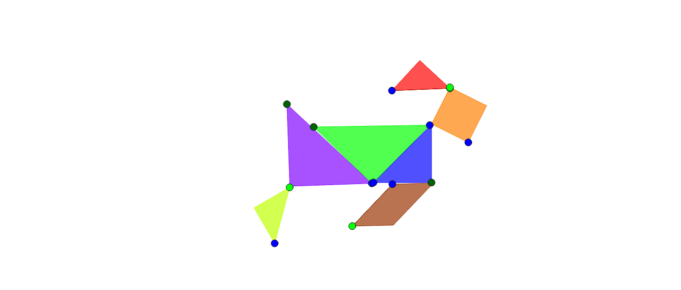 Tangram Dog Press Enter to start activity