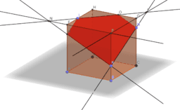 Копия Построение сечения куба. Задача 1.
