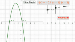 Parabola - Intercept Form Matching