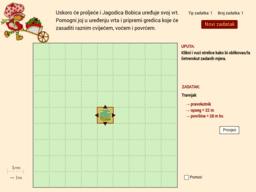 Opseg i površina četverokuta - Jagodica Bobica