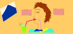 نوشیدن شربت