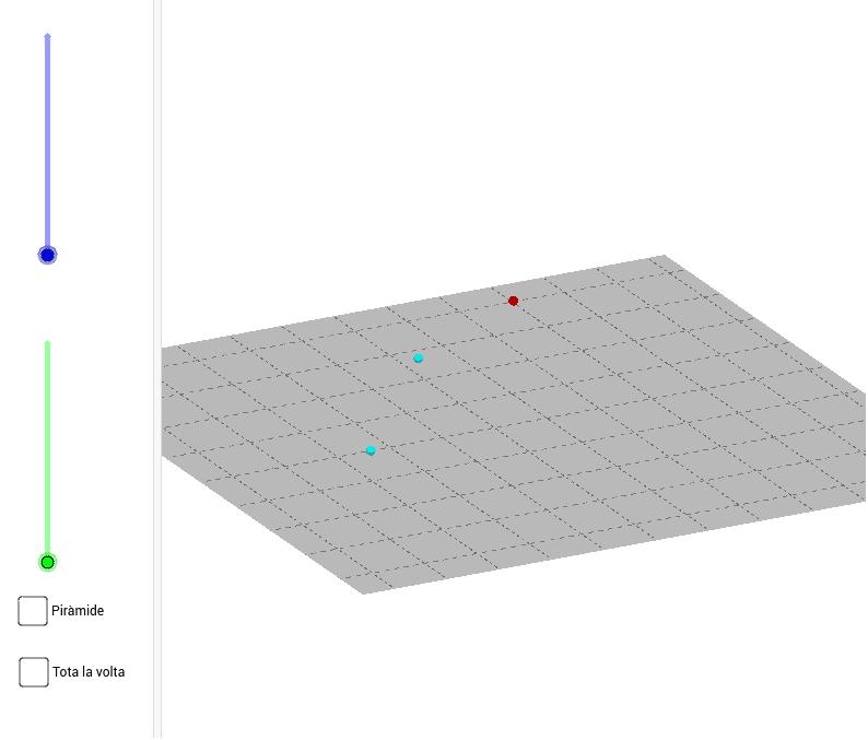 Moveu els punts lliscants per veure la construcció amb seqüències