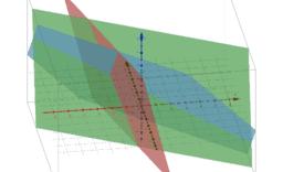 3x3 Matrix simultaneous equations