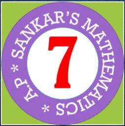 SANKAR'S MATHEMATICS - CLASS VII