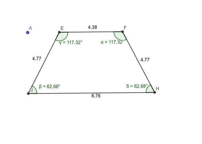 Isosceles Trapezoid-Angles and Sides
