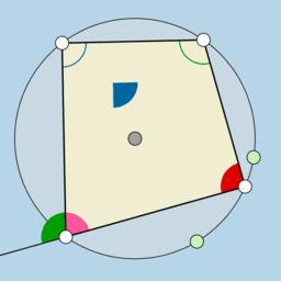 Cyclic Quadrilaterals (IAT: Corollary 3)