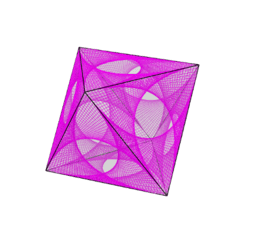 Curve Stitching on an Octahedron