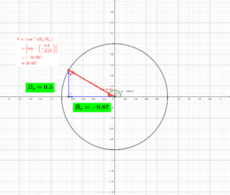 Angle of a Vector - triangle version (robphy)