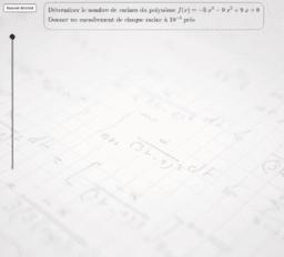 Racines réelles d'un polynôme de degré 3