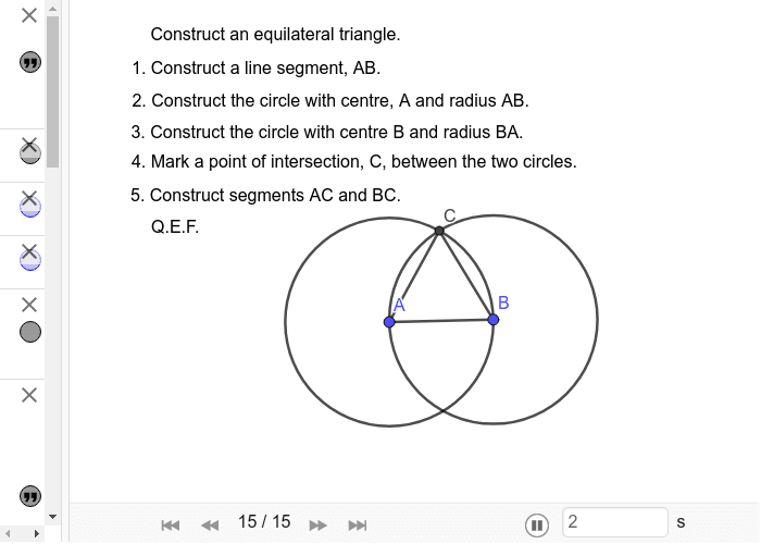Introduction to Adam's Precalculus Resources – GeoGebra