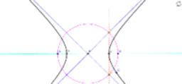 双曲線の漸近線の描き方