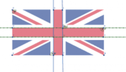 Gabrielle Parallel Lines English Flag