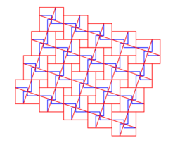 Pythagorean Theorem by Tessellation # 81 Tiling