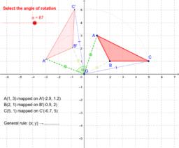 Rotation: triangle
