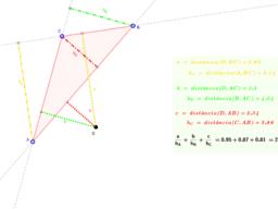 Generalització del Teorema de Viviani