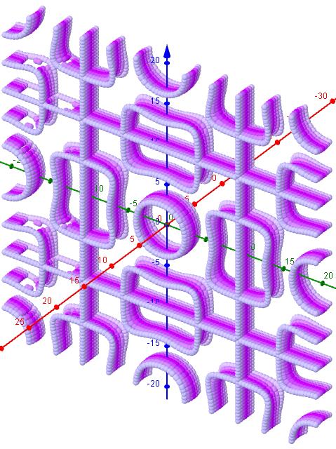 Chladni Figuren- 1 3 5 i=48-50