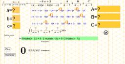 Integral por descomposición en fracciones parciales  2