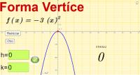 Forma Vértice de la ecuación cuadrática