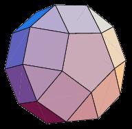 Plaats je een vijfhoekige koepel op het bovenvlak van een 10-hoekig regelmatig prisma, dan krijg je een nieuw lichaam uit de reeks: een 'verlengde vijfhoekige koepel'. En uiteraard kan je tegen het grondvlak van het prisma nog eens een vijfhoekige koepel plaatsen. Dat wordt dan een 'verlengde vijfhoekige dubbelkoepel'. Of je kunt de koepel op een anti-prisma plaatsen i.p.v. op een prisma. Zo merk je dat je vanuit één basislichaam snel verschillende andere Johnson lichamen kunt afleiden... tot je aan 92 komt.