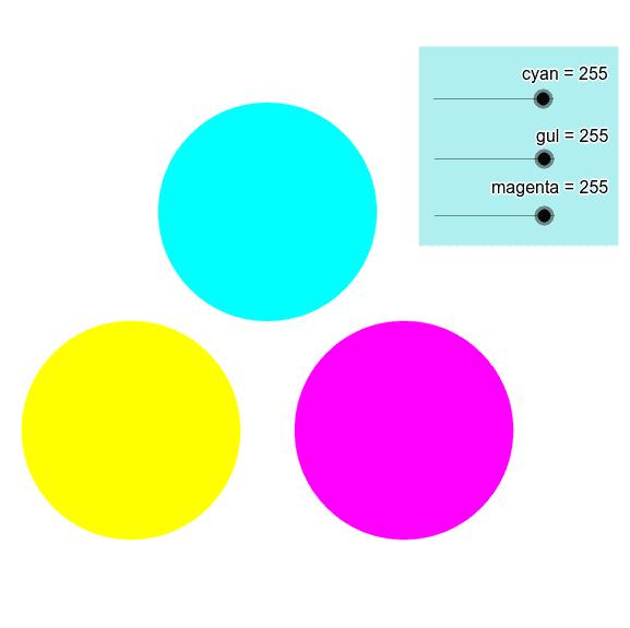Subtraktiv farveblanding