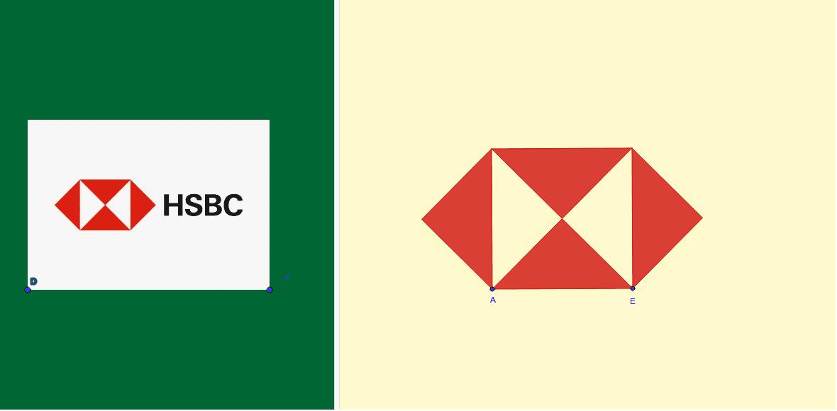 Puedes redimensionar el logo de los puntos A y E. Presiona Intro para comenzar la actividad