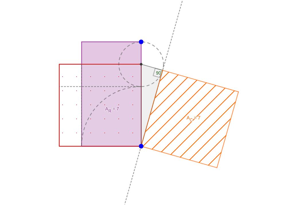 Dinamización de la cuadratura geométrica Presiona Intro para comenzar la actividad