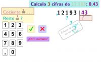 Decimales en el divisor con dos cifras
