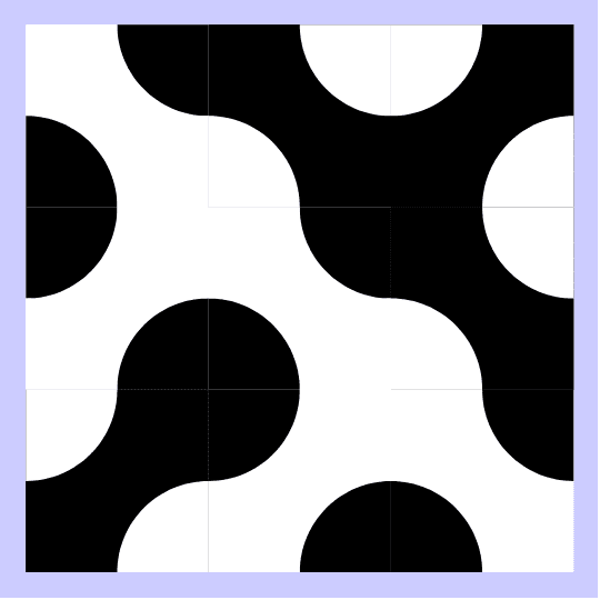 Click on the center of each square to flip it and on the corners to rotate it. Press Enter to start activity