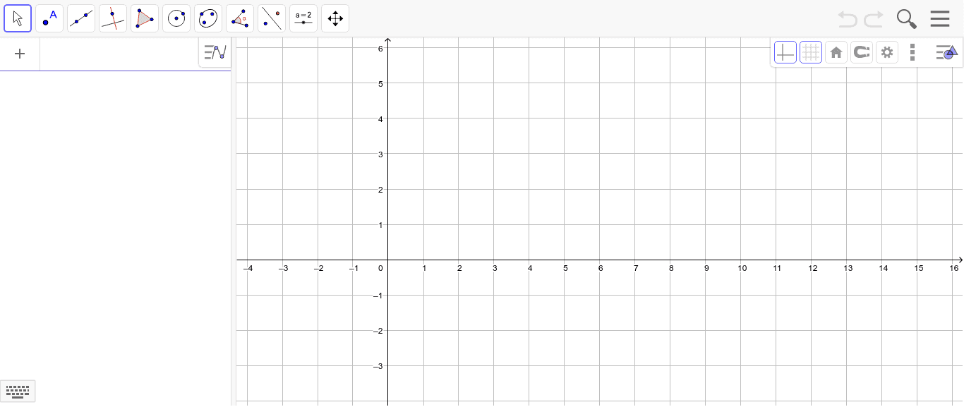 On your own:  Use the given points to create two curves and find the intersection.