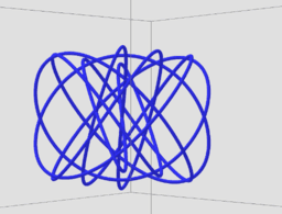Visualize 3 Note Chords with Lissajous Diagrams in 3-D