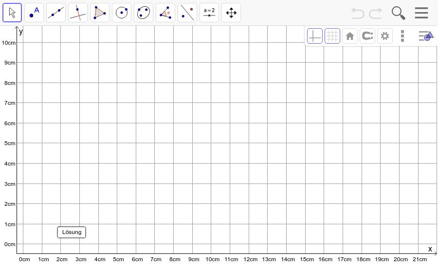 Dreieck 10: A(5/0), B(12/1), C(8/5): Zeichne das Dreieck und konstruiere den Höhenschnittpunkt H. Füge den Screenshot der Koordinaten von H im Auftrag in Teams ein! Drücke die Eingabetaste um die Aktivität zu starten