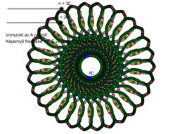 Mandala rajzolása dinamikus színekkel
