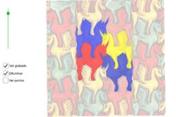 Teselaciones de M.C. Escher: División regular del plano nº 78