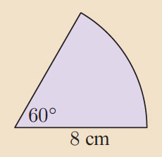 What is the area of this sector?