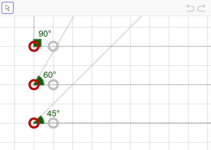 문제10. 세 내각의 크기가 45º, 60º, 90º인 삼각형(AAA) 활동을 시작하려면 엔터키를 누르세요.