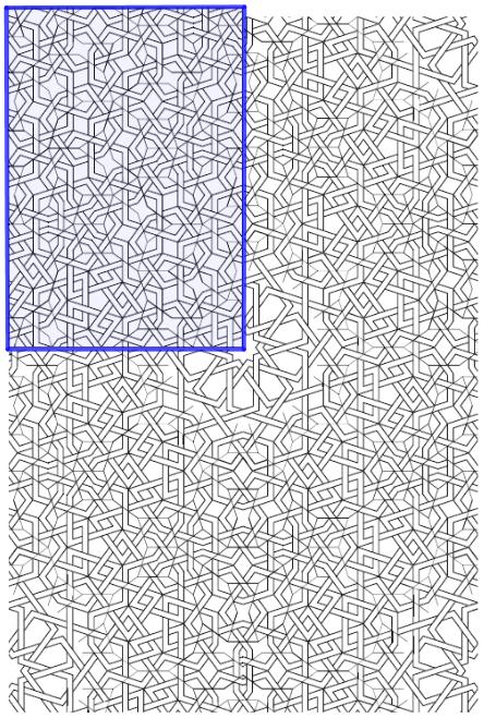 afbeelding: Cromwell - The search for Quasi-Periodicity in Islamic 5-Fold Ornament