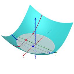 Nullstellensuche 2D, ein Modell (2_1_a)
