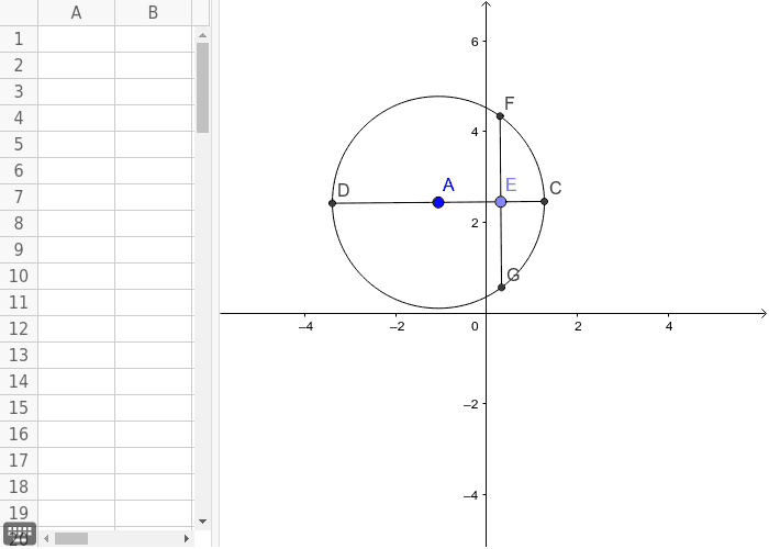 diameter CD is perpendicular to chord FG Press Enter to start activity