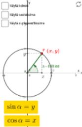 MAA9 Trigonometriset funktiot ja lukujonot