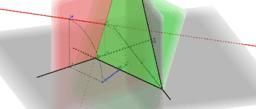 Vzdálenost bodu od roviny - prostorové řešení