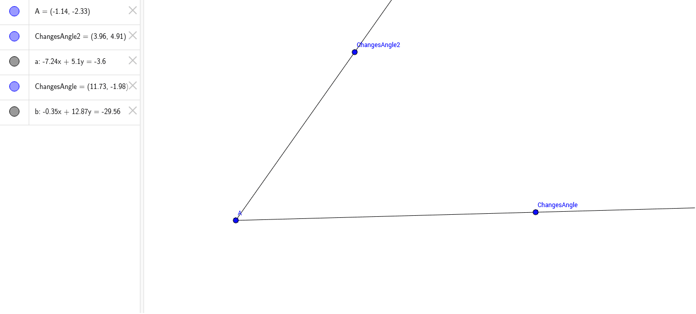 bisector of an angle Press Enter to start activity