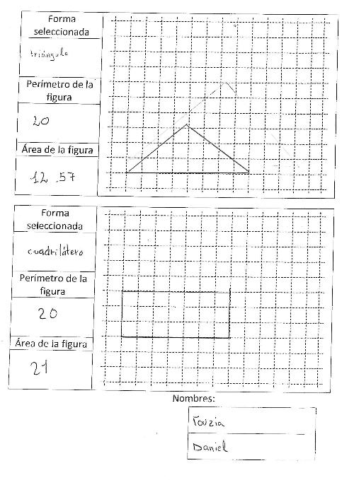 Ordenagailua - triangeluak eta laukiak