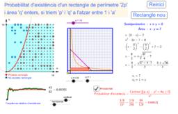 Probabilitat d'existència d'un rectangle