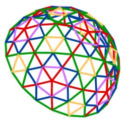 4Dframe Dome edges version