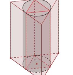Aula 05/10 Volume de um Cilindro circular reto por prismas