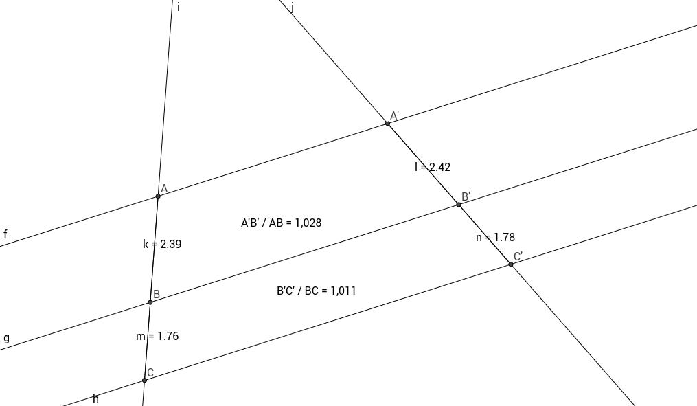 Teorema de Tales - Alba Izaguirre