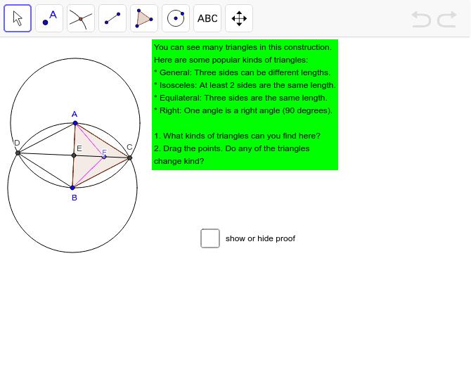 Challenge 08: Find Dynamic Triangles Press Enter to start activity