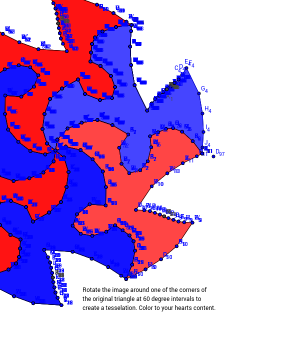 Rotational Tessellation Step 6